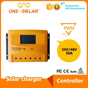 专业批发 高品质太阳能双路灯控制器 太阳能控制器50A